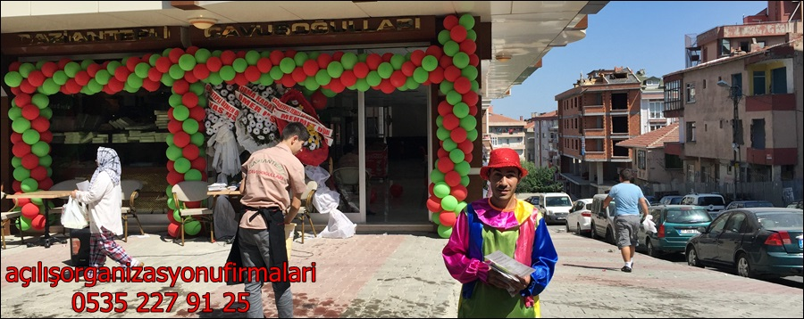 açiliş balon organizasyonu